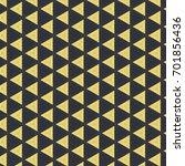 geometric seamless pattern... | Shutterstock . vector #701856436