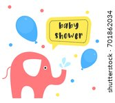 baby shower design. vector...