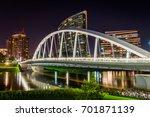 skyline of columbus  ohio from... | Shutterstock . vector #701871139