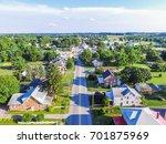 aerial of main street area in...   Shutterstock . vector #701875969