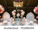 candy bar. delicious sweet... | Shutterstock . vector #701880454