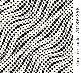 geometric dots halftone... | Shutterstock .eps vector #701897398