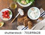ingredients for cooking... | Shutterstock . vector #701898628