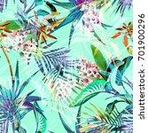 Tropical Seamless Pattern....