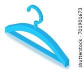 hanger icon. isometric... | Shutterstock .eps vector #701901673