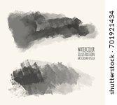 vector gray color brush strokes.... | Shutterstock .eps vector #701921434