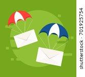 fast correspondence. vector...   Shutterstock .eps vector #701925754