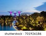 supertree grove in garden by... | Shutterstock . vector #701926186