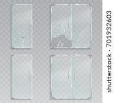 set of vector realistic... | Shutterstock .eps vector #701932603