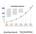 timeline infographic template... | Shutterstock .eps vector #701949994