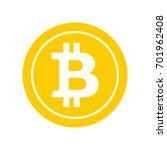 Bitcoin Flat Icon. Crypto...