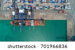 container container ship in... | Shutterstock . vector #701966836