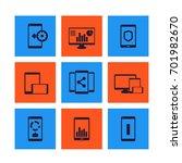mobile  desktop apps icons