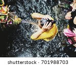 holy spring water temple in...   Shutterstock . vector #701988703