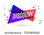 colorful banner with text... | Shutterstock .eps vector #701989060