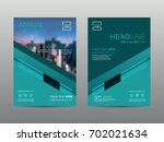 annual report brochure layout... | Shutterstock .eps vector #702021634