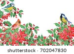 christmas background with... | Shutterstock . vector #702047830