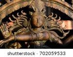 Antique Broantique Bronze Shiv...