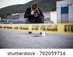 crime scene  murder ... | Shutterstock . vector #702059716