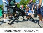 baltijsk  russia   july 30 ... | Shutterstock . vector #702065974