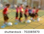 blurred photo of youth training ... | Shutterstock . vector #702085870