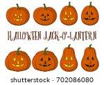 holiday halloween symbols ...   Shutterstock .eps vector #702086080
