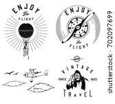 Vector Vintage Aviation Parts...