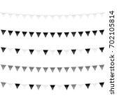 monochrome black and white... | Shutterstock .eps vector #702105814