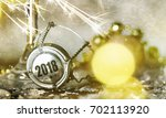 new years eve celebration... | Shutterstock . vector #702113920