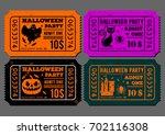 set of vintage  grunge paper...   Shutterstock .eps vector #702116308