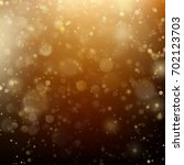 new year and xmas defocused... | Shutterstock .eps vector #702123703