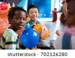 portrait of children playing... | Shutterstock . vector #702126280