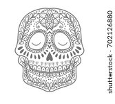 coloring page for children. day ... | Shutterstock .eps vector #702126880