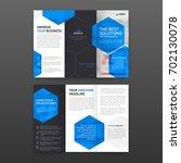 pharmaceutical brochure tri...   Shutterstock .eps vector #702130078