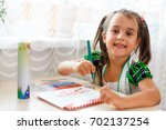 time to do my homework  little...   Shutterstock . vector #702137254