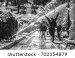 park in zaragoza spain | Shutterstock . vector #702154879