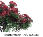 3d rendering of a foreground... | Shutterstock . vector #702166033