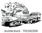 excavtor | Shutterstock .eps vector #702182200