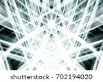 abstract stripes silver... | Shutterstock . vector #702194020