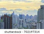 bird eye view a city of bangkok ...   Shutterstock . vector #702197314