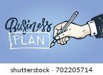 business vector concept... | Shutterstock .eps vector #702205714