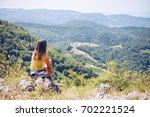 what a view   | Shutterstock . vector #702221524