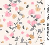 seamless background pattern of... | Shutterstock .eps vector #702240070