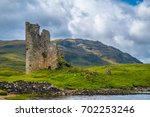 Ardvreck Castle  A Ruined 16th...