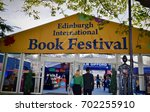 entrance to edinburgh...   Shutterstock . vector #702255910