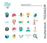 creativity  imagination ...   Shutterstock .eps vector #702266239