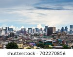 view of the city. there are... | Shutterstock . vector #702270856