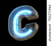 metallic futuristic font with...   Shutterstock . vector #702271966