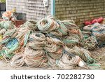 Rope Stacked And Ready To Be...