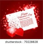 valentine's day vector... | Shutterstock .eps vector #70228828